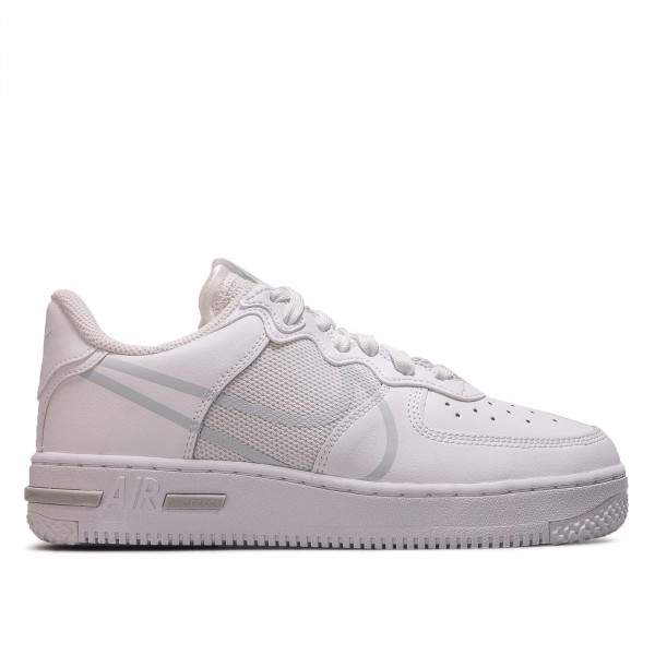 Unisex Sneaker Air Force 1 React White Pure Platinum