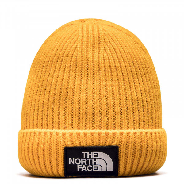 Northface Beanie Logo Box Zinnia Orange