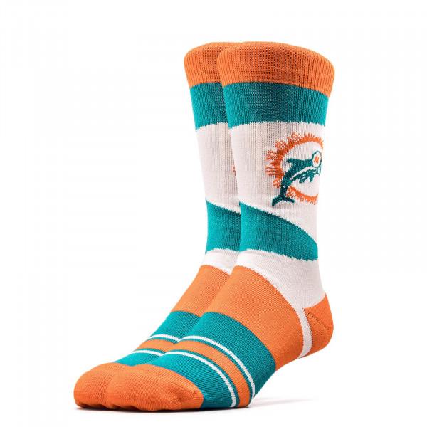 Stance Socks NFL Dolphins Retro TealOran