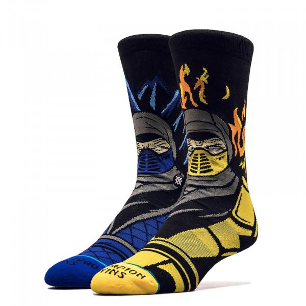 Unisex Socken Sub Zero Scorpions Black Yellow