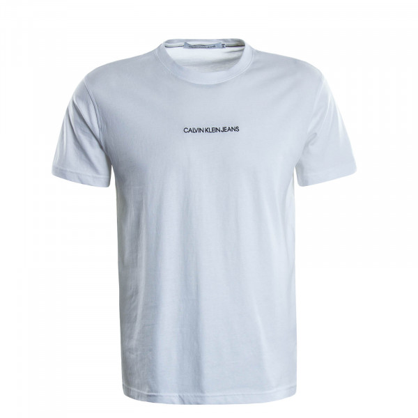 Herren T-Shirt 5186  Instit Chest Logo White
