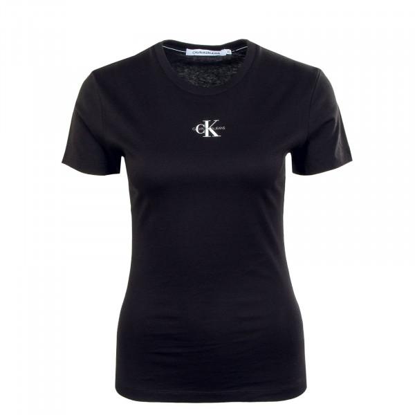 Damen T-Shirt - Micro Monogram 7314 - Black