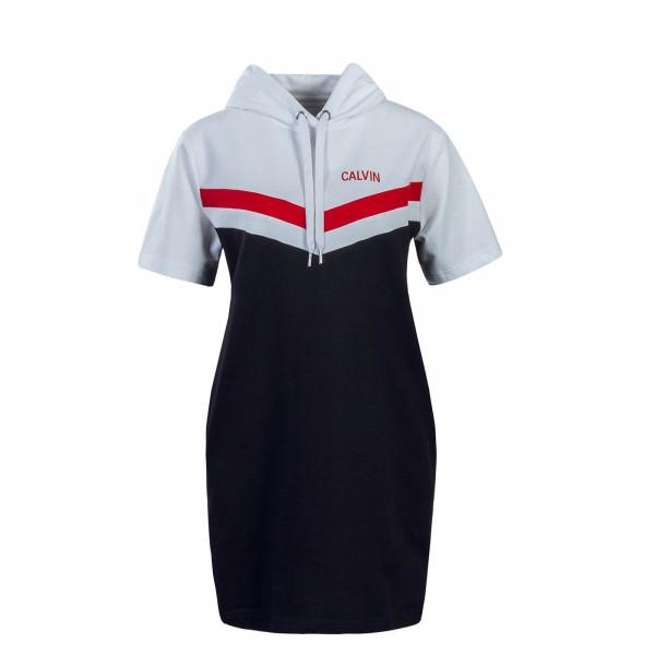 Ck Wmn Dress Cheerleader White Red Black