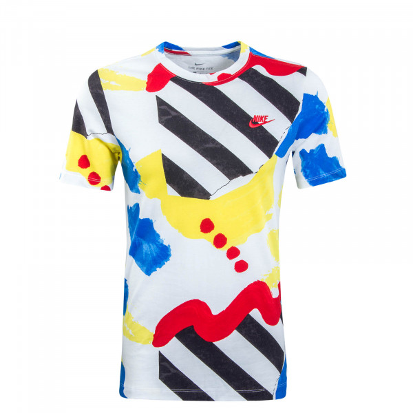 Herren T-Shirt SSNL White Red Blue Black