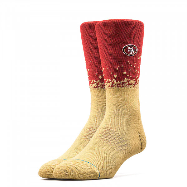 Stance Socks 49 Ers Fade 2 Red