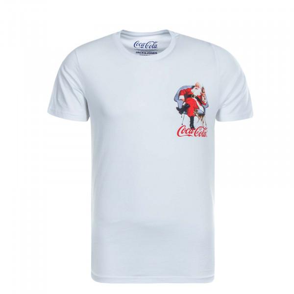 Herren T-Shirt JORXMASCOLA White