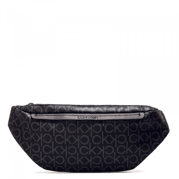 Hip Bag Mono Black Silver