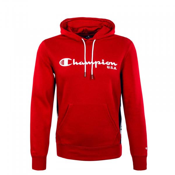 Herren Hoody - Sweatshirt - Red