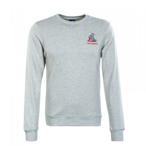 Herren Sweatshirt - Ath Minmz Crew Sah- White