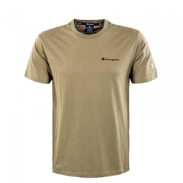 Herren T-Shirt - Crewneck - Olive