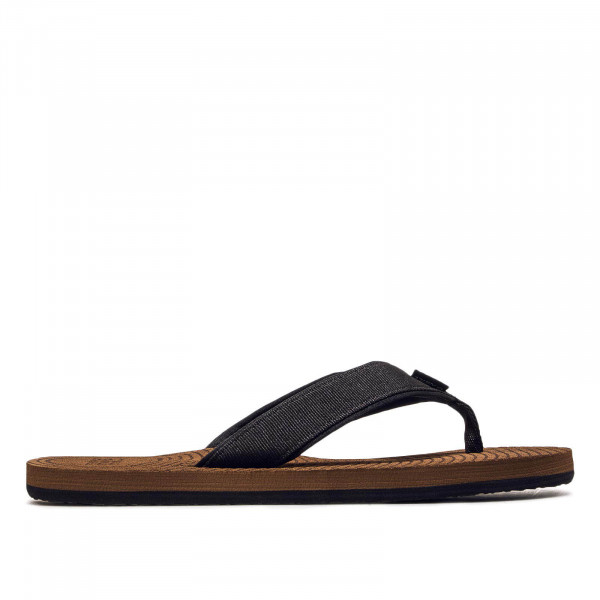 Herren Slide Koosh Black Brown