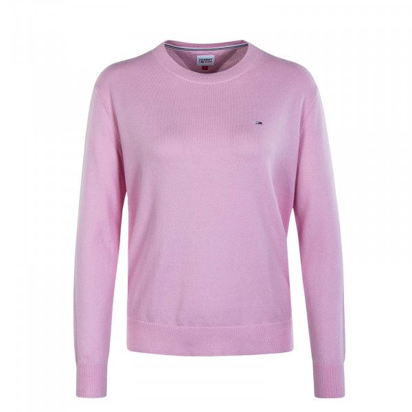Damen Knit Sweater Soft Touch Romantic Pink