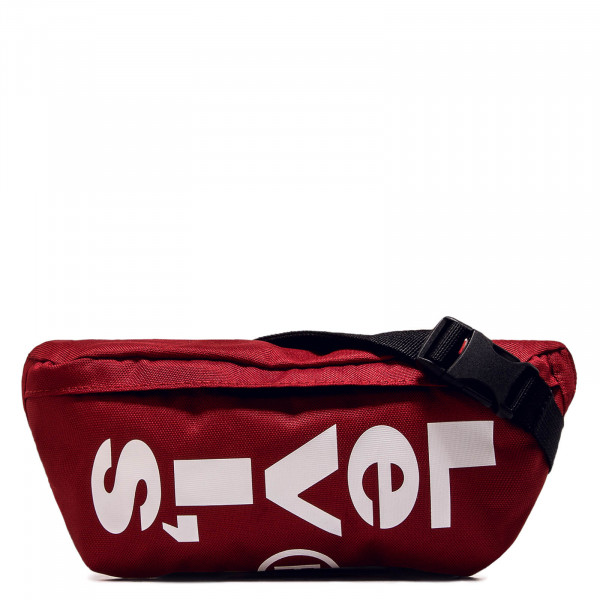 Hip Bag Banana Sling Red White