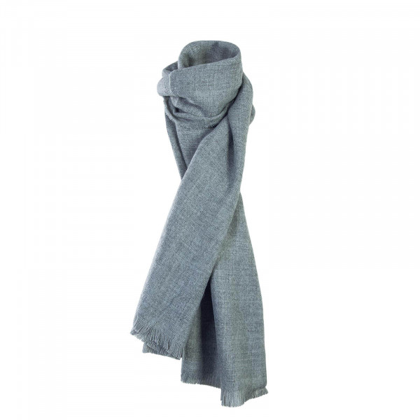 Only Scarf Silja Weaved Light Grey