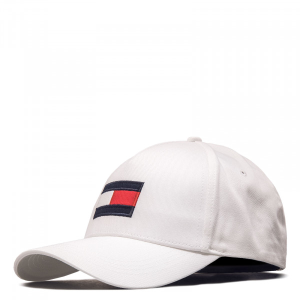 Unisex Cap - Big Flag 6943 - Optic White