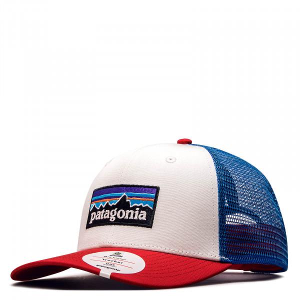 Patagonia Cap Logo Blue White Red