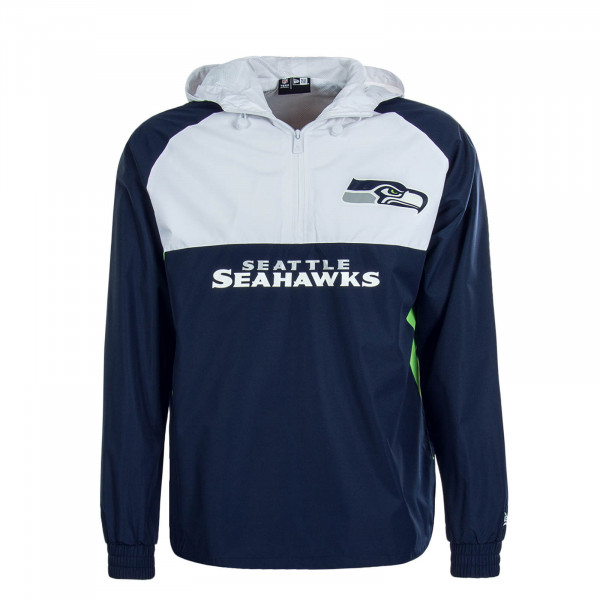 Herren Windbreaker Seahawks Navy White