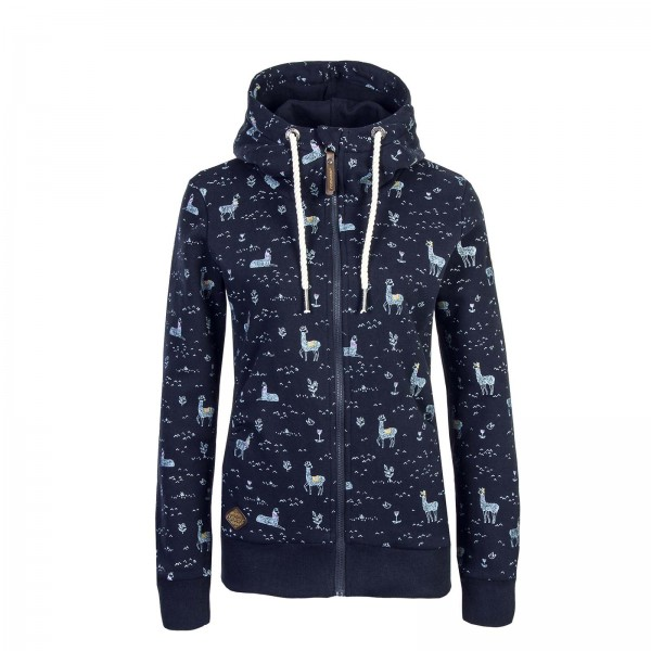 Ragwear Wmn Sweatjkt Zip Angel Navy