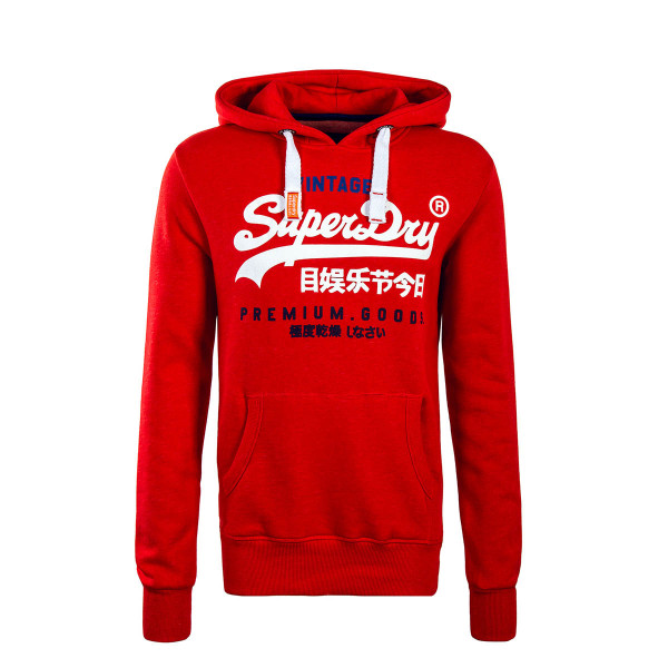 Superdry Hoody Premium Goods Red