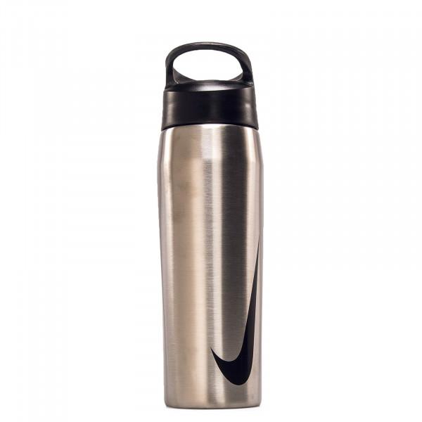 Bottle Hypercharge Straw Silver Black
