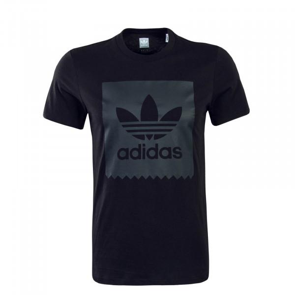 Herren T-Shirt Solid BB T Black Black