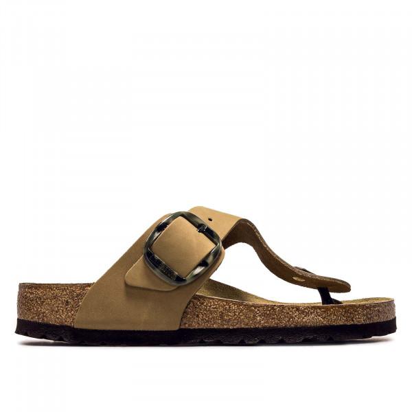 Damen Sandale - Gizeh Big Buckle NU Mud - Green - normale Weite