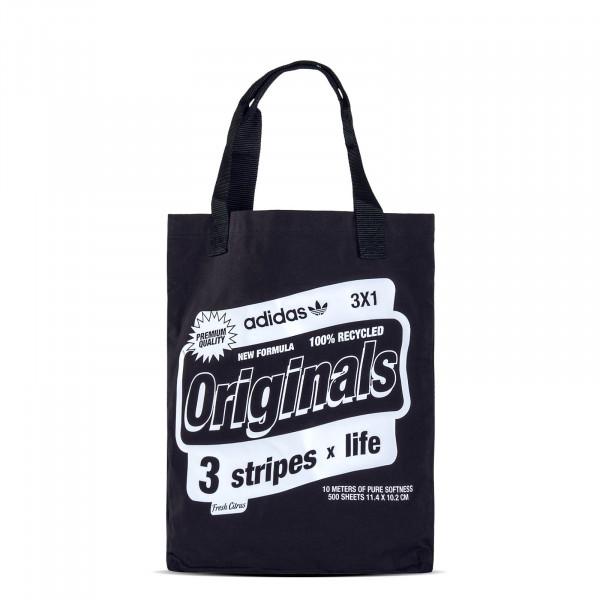 Bag Shopper2 Bodega Black White