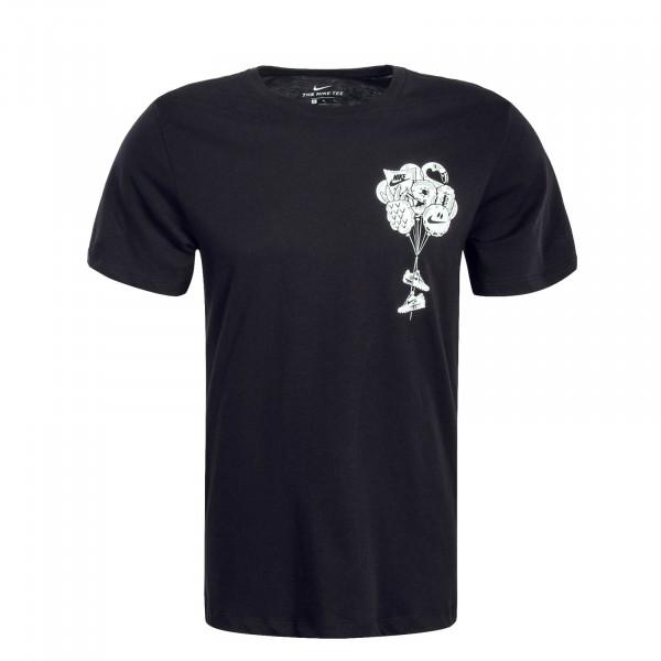 Herren T-Shirt SZNL Black White