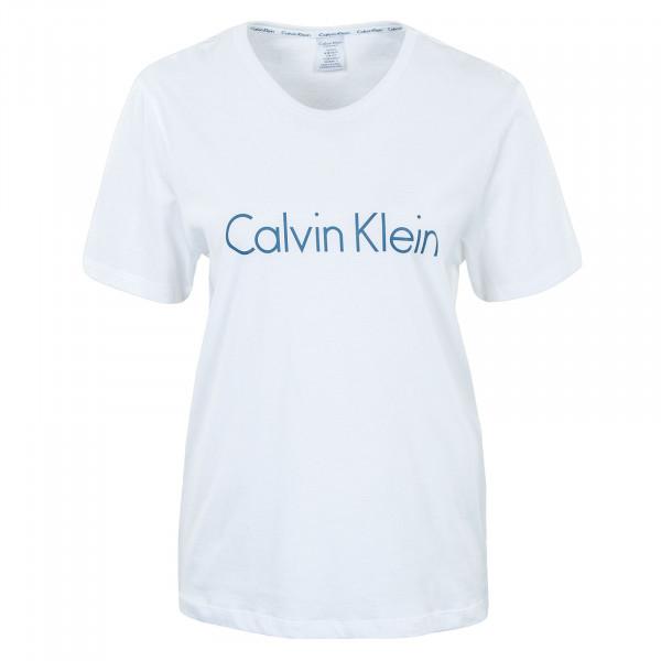 Damen T-Shirt Crew Neck White Riverbed Logo