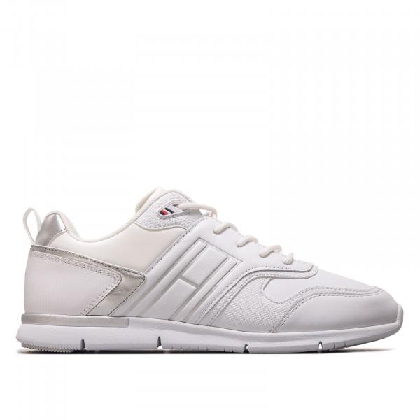 Damen Sneaker - Metallic Lightweight  - White / Silver