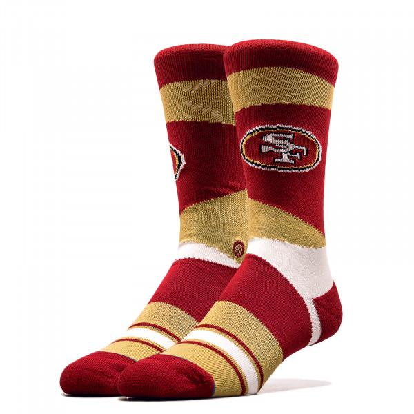 Unisex Socken NFL 49ERS Red