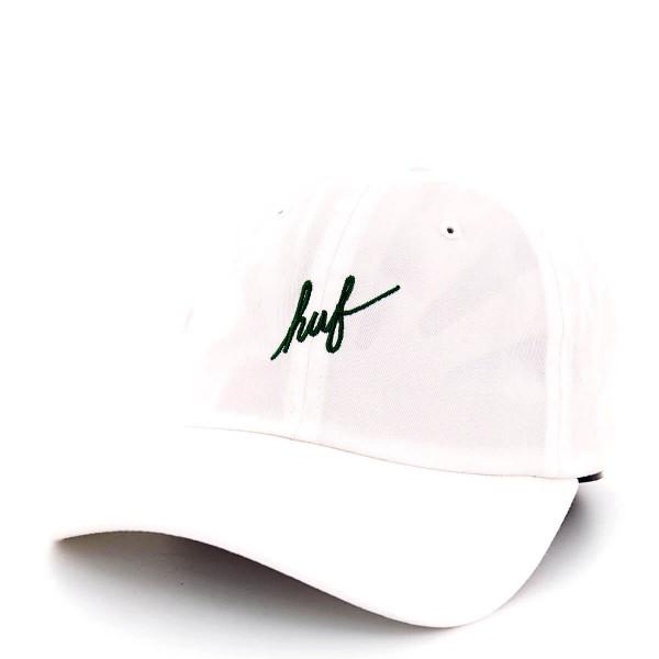 Huf Cap Script Curve White