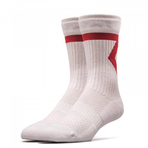 Socken SX 7810 White Red