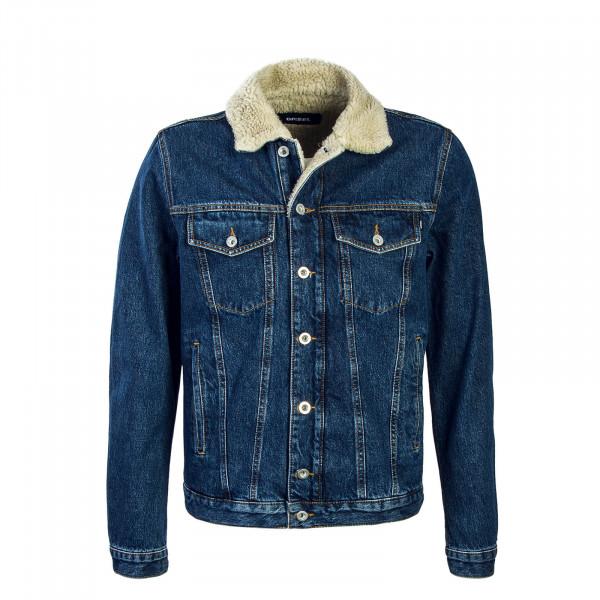 Diesel Jeansjkt Gioc Fur Blue