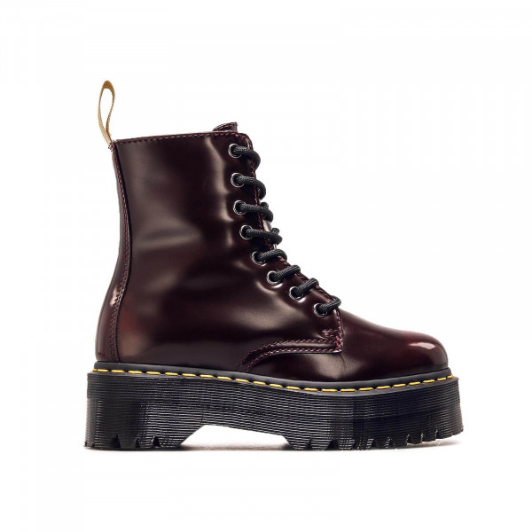 Dr Martens Wmn Jadon 8 Eye Smooth Red