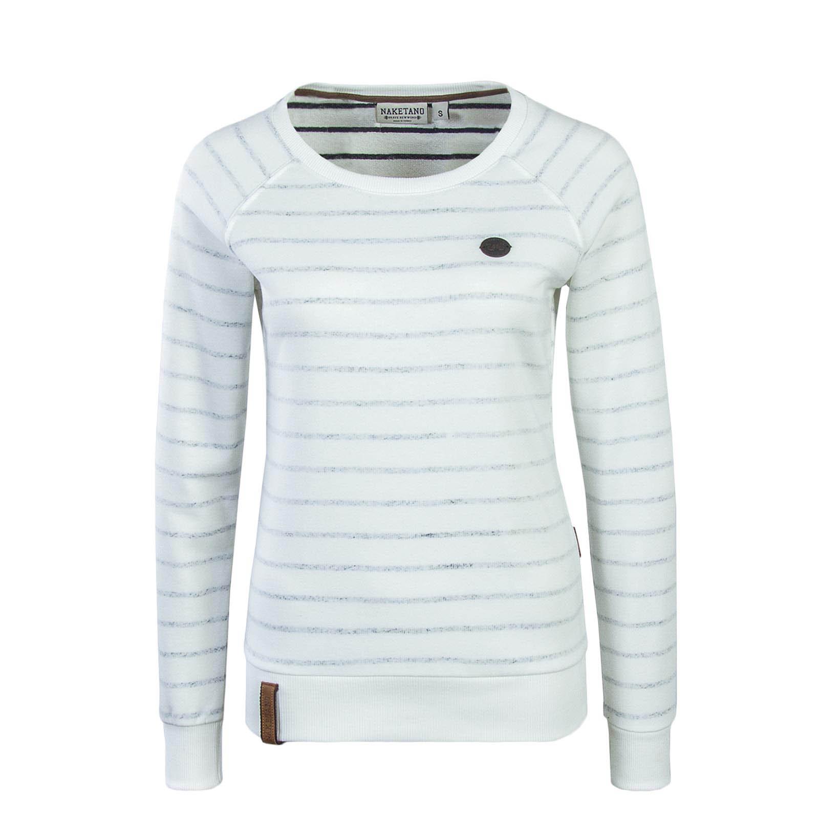 c59f9c302226 gestreiftes Damen Sweatshirt von Naketano online kaufen   BodycheckSweats    Pullover   Bekleidung   Frauen   Bodycheck
