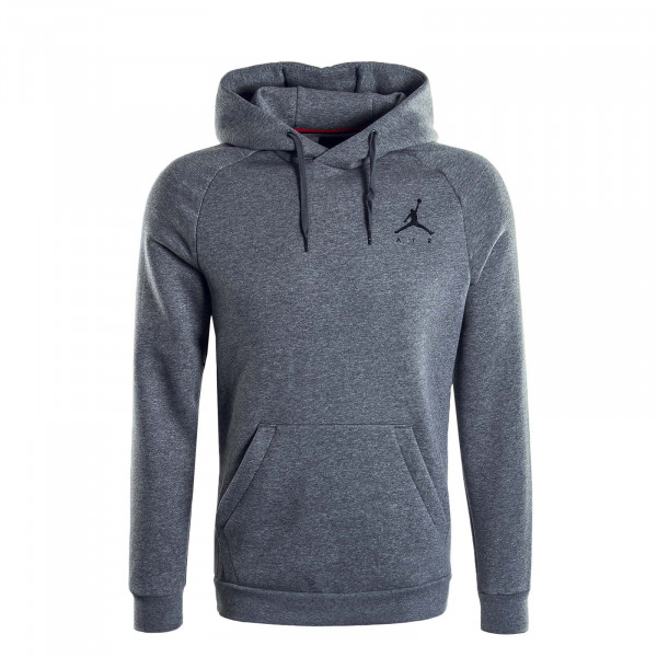 Herren Hoody Jumpman Grey Black