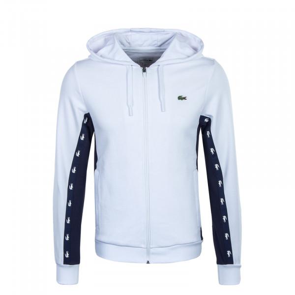 Herren Hoody - SH5174 - White / Navy Blue