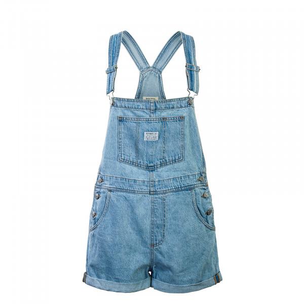 Latzhose Short And Sweet Blue