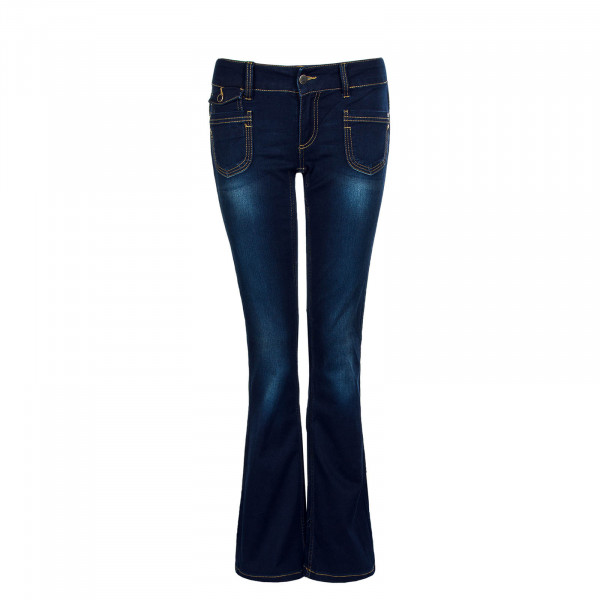 Damenhose Bootcut EBBA Soft Dark Blue