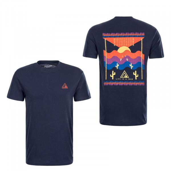 Herren T-Shirt Mirrage Navy