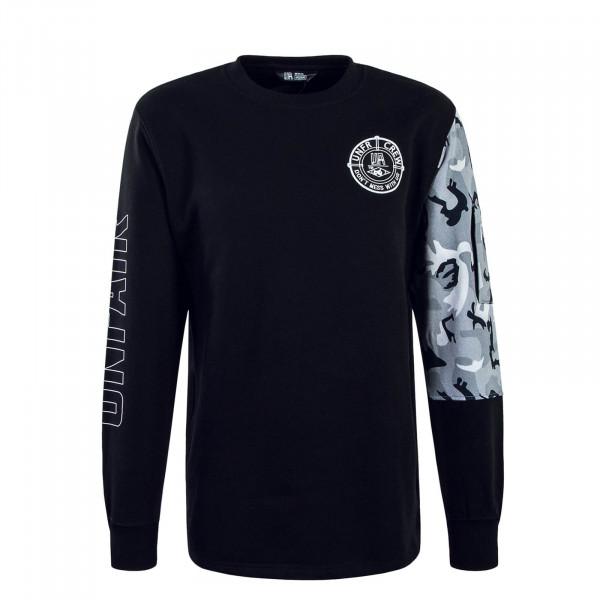 Herren Sweatshirt 097 DMWU Snowcamouflage Black
