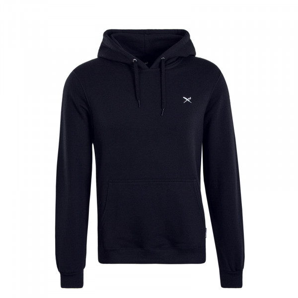 Herren Hoody Mini Flag Black White