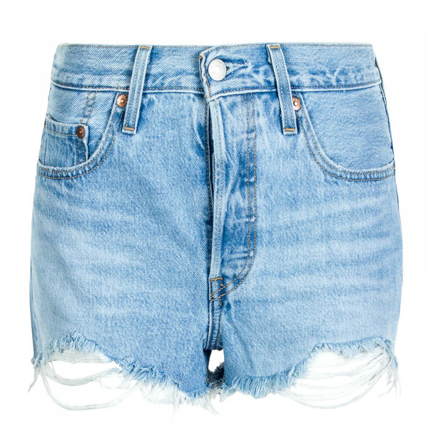 Damen Shorts 501 Original Luxor Heat Blue