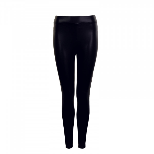 Damen Cool Coated Leggings Black
