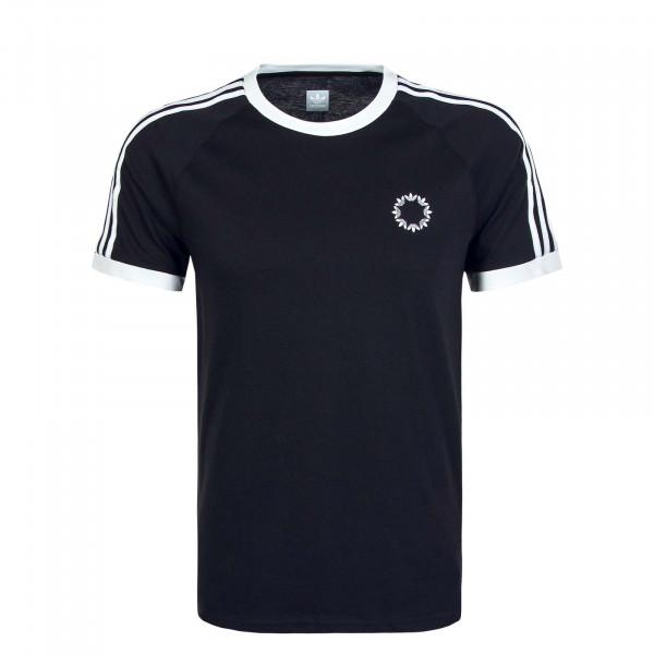 Herren T-Shirt 1535 Club Black White