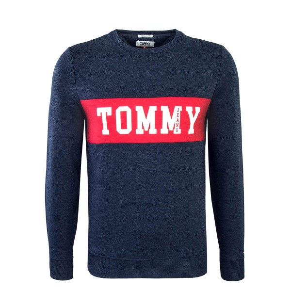 Tommy Sweat Panel Logo Navy Mel Red