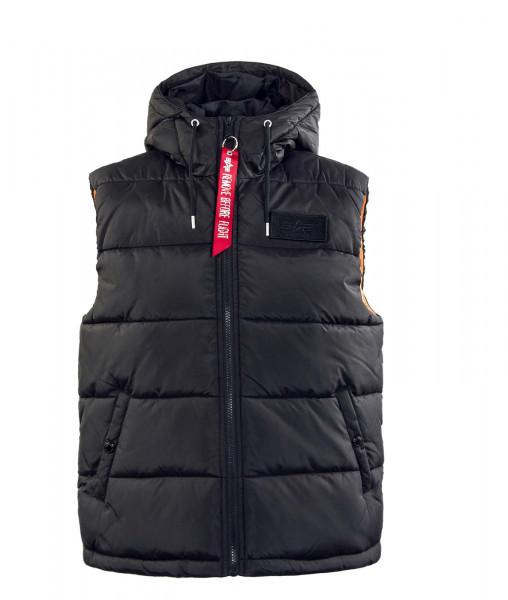 Herren Weste - Puffer Vest FD - Black