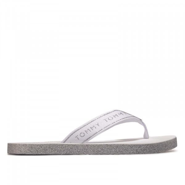 Damen Flip Flops Glitter 4804 Beach White
