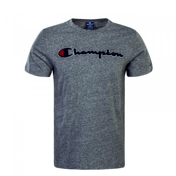 Herren T-Shirt Crewneck Grey